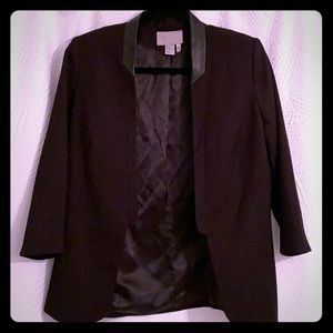 Black fitted blazer Like new